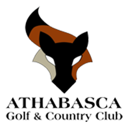 Logo of golf course named Athabasca Golf and Country Club