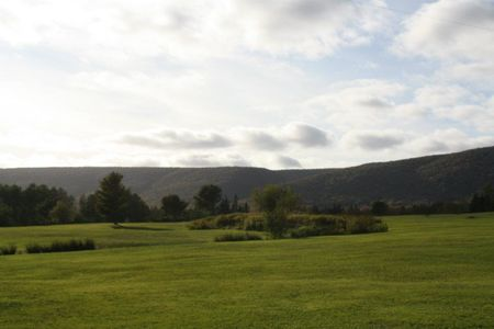 Overview of golf course named Baddeck Forks Golf Club
