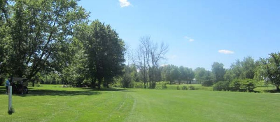 Black creek golf course cover picture