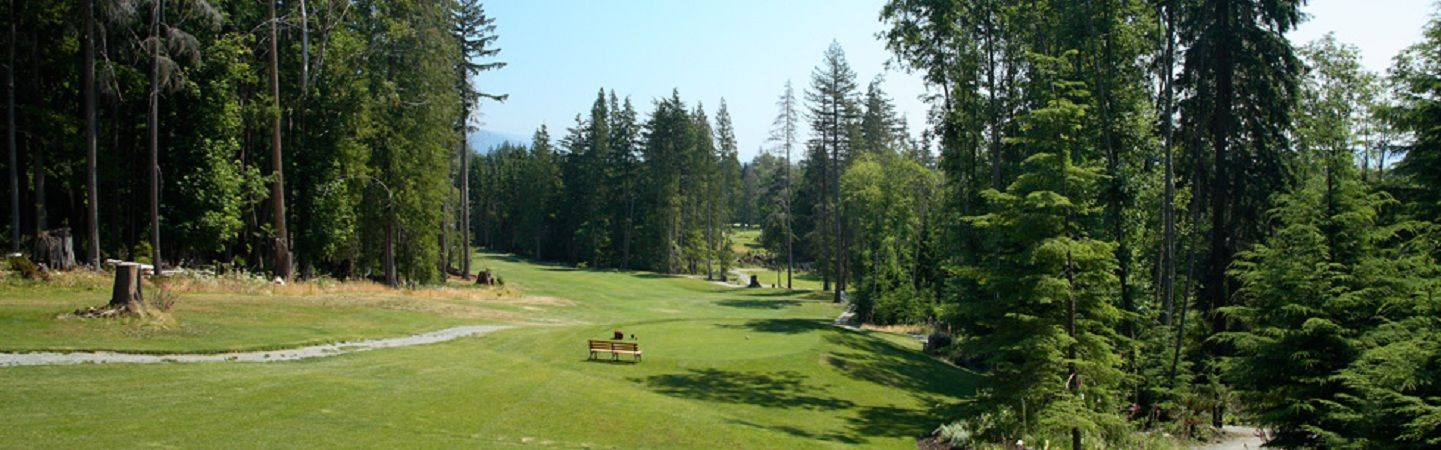 Bowen island golf course cover picture