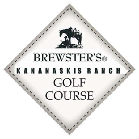 Logo of golf course named Brewster's Kananaskis Ranch Golf Course