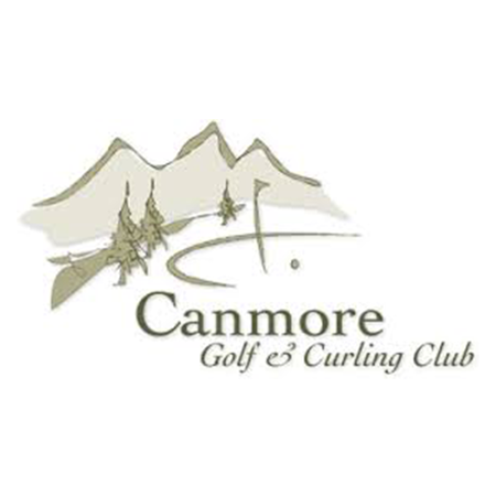 Logo of golf course named Canmore Golf and Curling Club