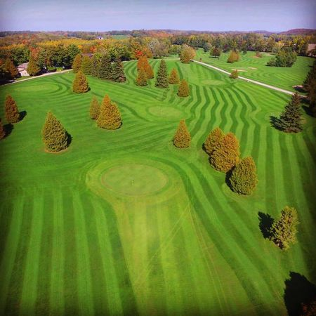 Overview of golf course named Chesley Lake Camp Golf Course