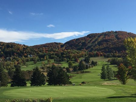 Overview of golf course named Club de Golf Chateau-Bromont