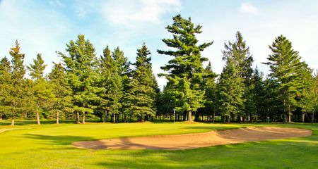 Overview of golf course named Club de Golf Et de Curling de Thetford