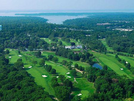 Overview of golf course named Club de Golf Fresh Meadows