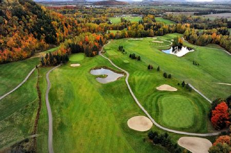 Overview of golf course named Club de Golf Heritage