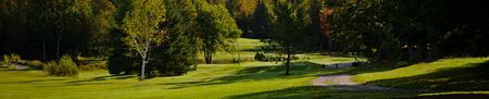 Overview of golf course named Club de Golf Lac Megantic