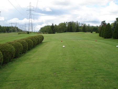 Overview of golf course named Club de Golf Rougemont