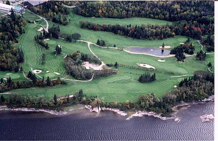 Overview of golf course named Club de Golf Saguenay Arvida