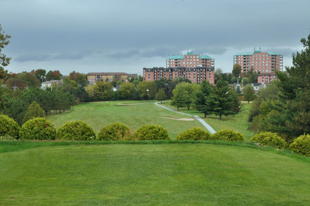 Overview of golf course named Club de Golf Sherbrooke