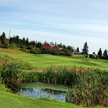 Overview of golf course named Clyde River Golf Club