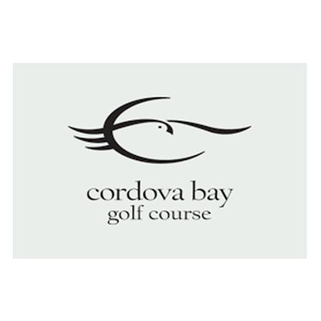 Logo of golf course named Cordova Bay Golf Course