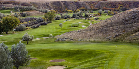 Cottonwood Coulee Golf Course Cover Picture