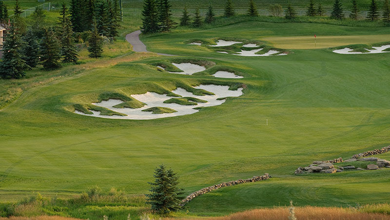 Country hills golf club cover picture