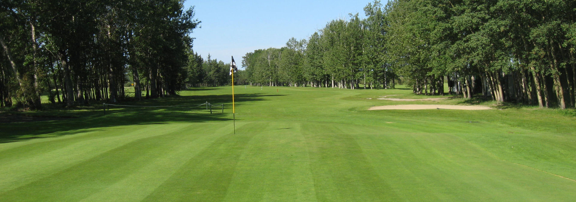 Creek golf course cover picture