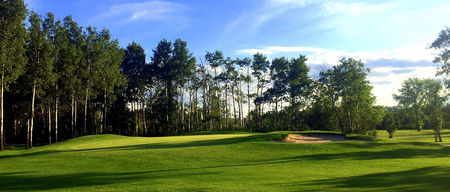 Dauphin lake golf club cover picture
