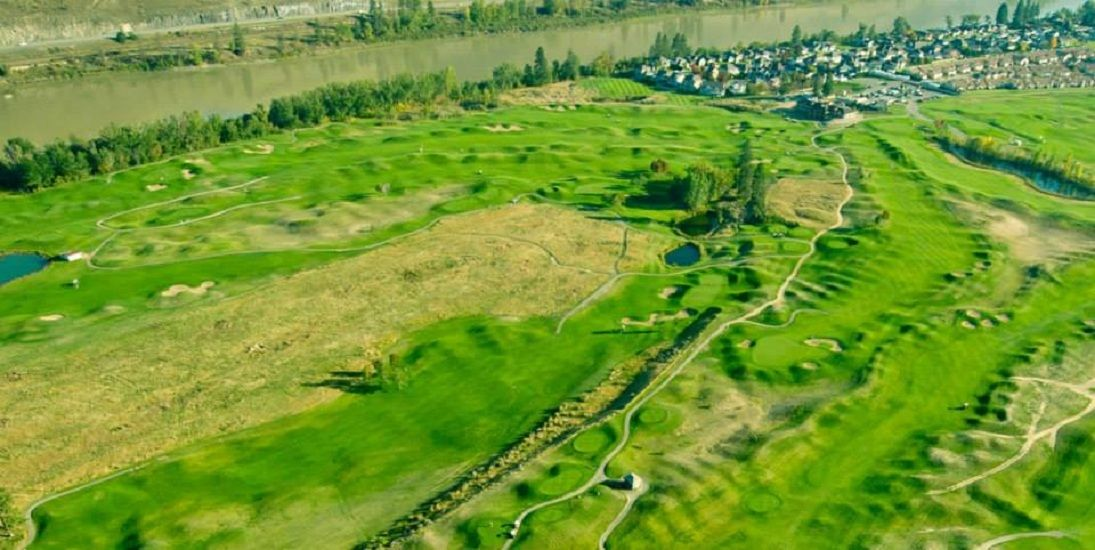 Dunes at kamloops golf club cover picture
