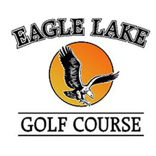 Logo of golf course named Eagle Lake Golf and Country Club