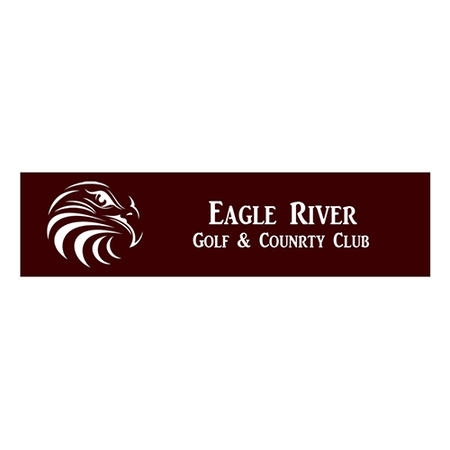 Logo of golf course named Eagle River Golf and Country Club