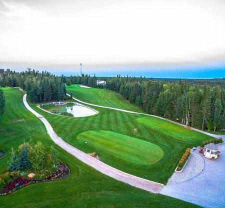 Overview of golf course named Elk Ridge Resort - Birch/Tamarack