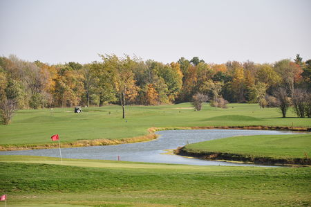 Overview of golf course named Empire Springs Golf Club