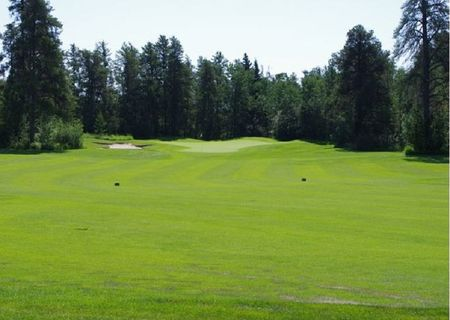 Overview of golf course named Evergreen Golf Course