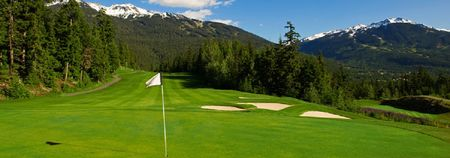 Overview of golf course named Fairmont Chateau Whistler Golf Club