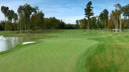 Overview of golf course named Falcon Golf