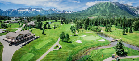 Overview of golf course named Fernie Golf and Country Club