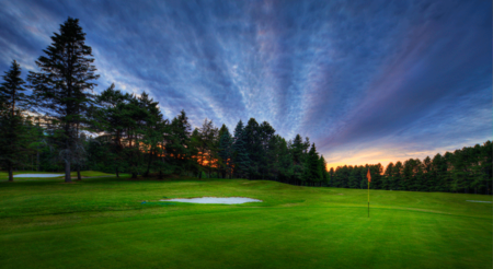 Overview of golf course named Fraser Edmundston Golf Club