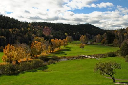Fundy National Park Golf Club Cover