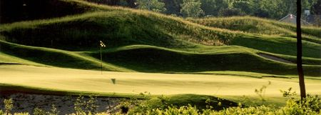 Overview of golf course named Golf Manitou