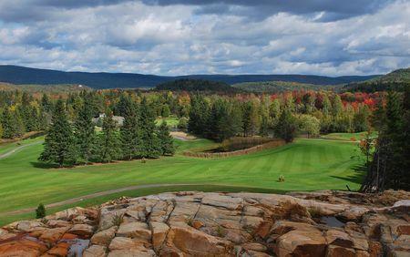 Overview of golf course named Golf Saint -Jean de Matha