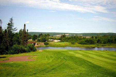 Overview of golf course named Grand Falls Golf Club