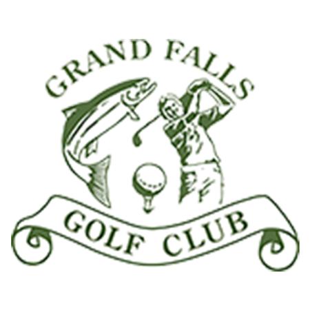 Logo of golf course named Grand Falls Golf Club