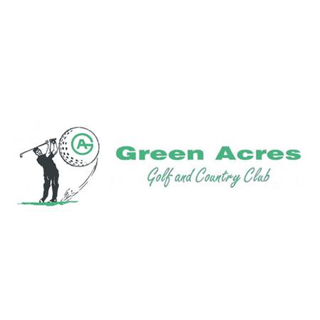 Logo of golf course named Green Acres Golf Club