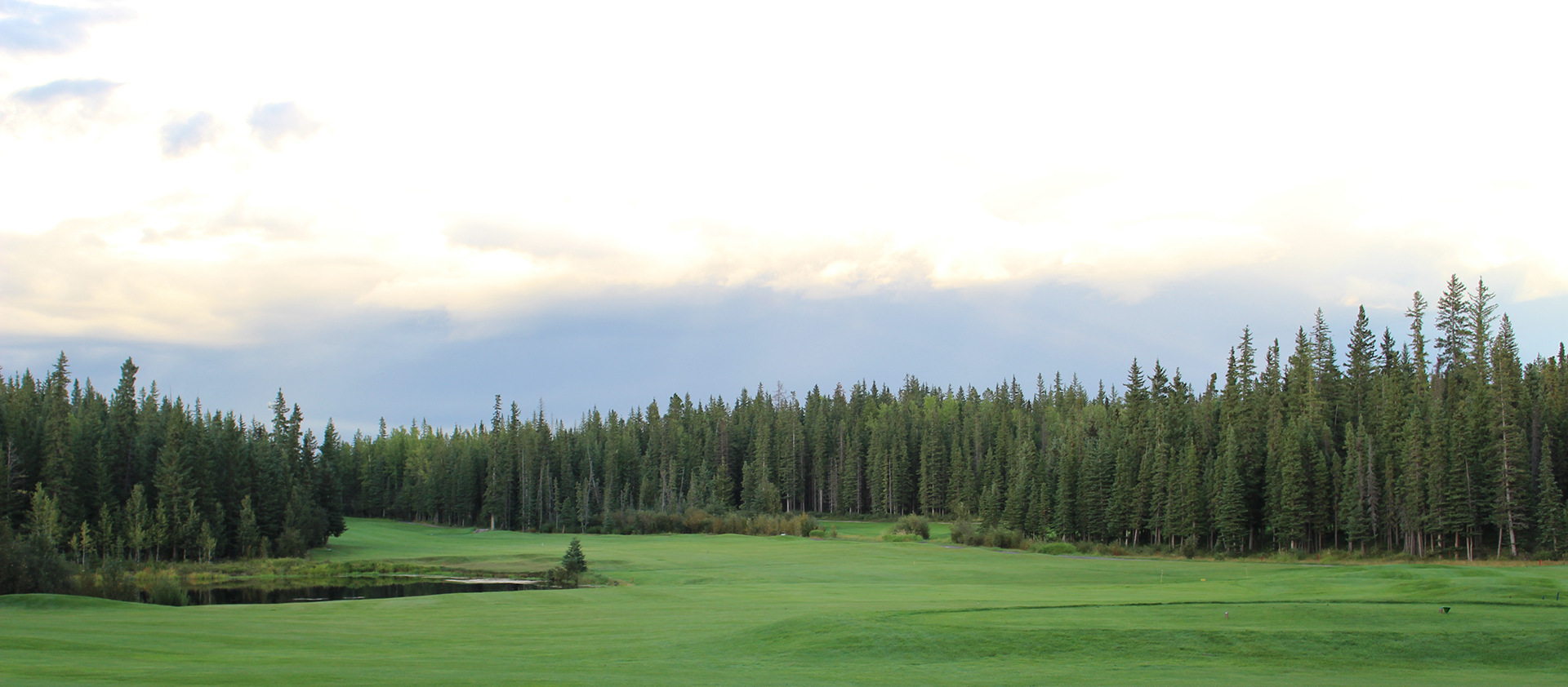 Overview of golf course named Hinton Golf Club