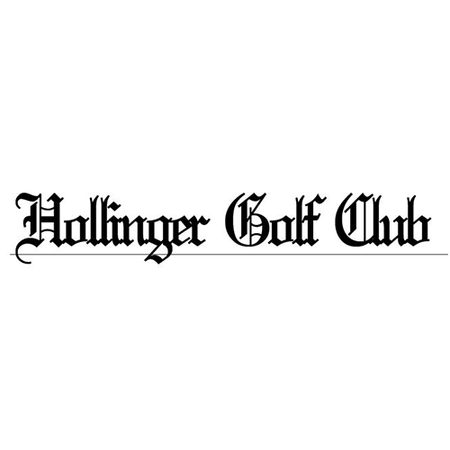 Logo of golf course named Hollinger Golf Club