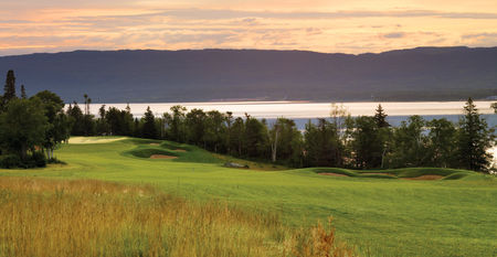 Overview of golf course named Humber Valley Resort