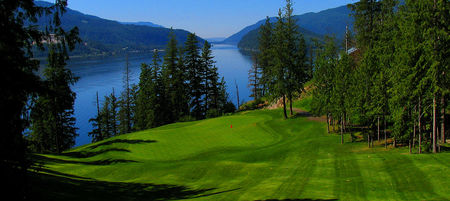 Hyde mountain on mara lake golf course cover picture