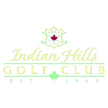Logo of golf course named Indian Hills Golf Club