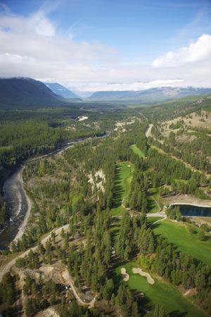 Overview of golf course named Kimberley Golf Club