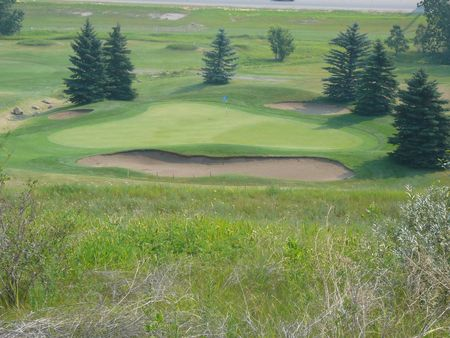 Overview of golf course named Lakeview Golf Course (Calgary)