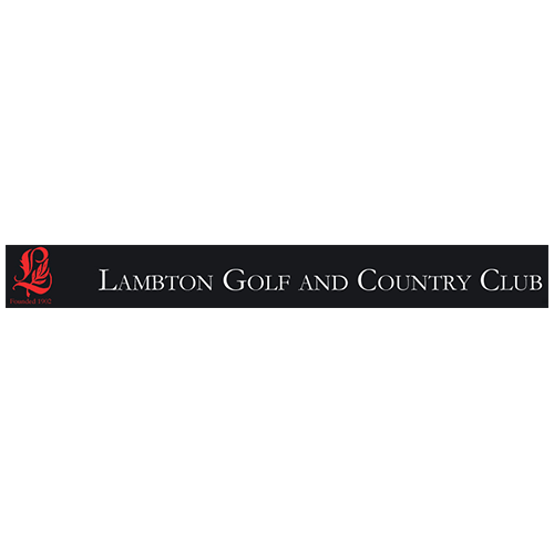 Logo of golf course named Lambton Golf and Country Club