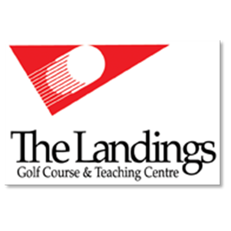 Logo of golf course named Landings Golf Course