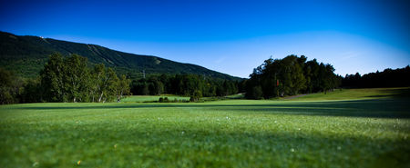Overview of golf course named Le Grand Vallon