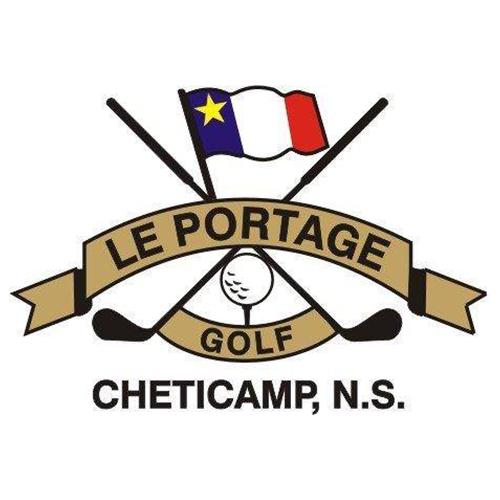 Logo of golf course named Le Portage Golf Club