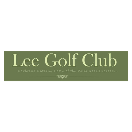 Logo of golf course named Lee Golf Club