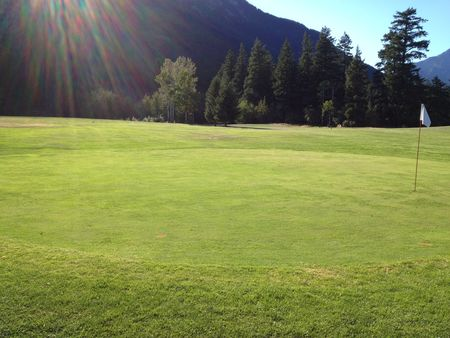 Overview of golf course named Lillooet Golf Course